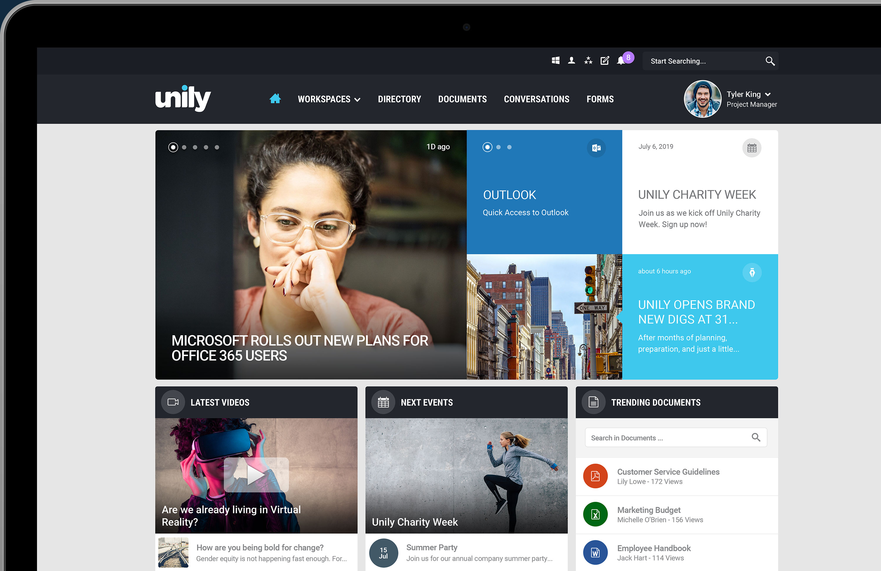 Powerful Intranet-as-a-Service Application | Discover Unily