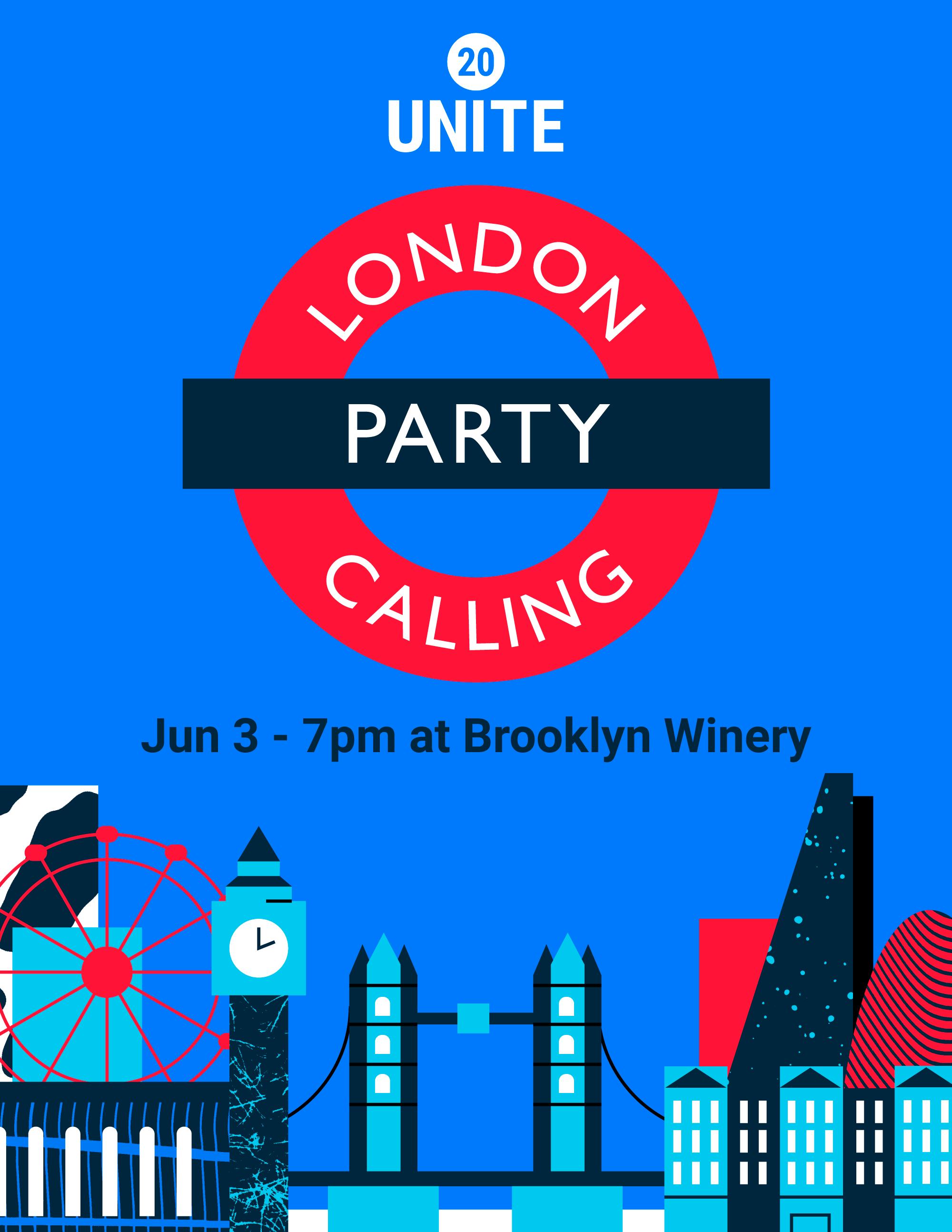 Unite 20 London Calling Party