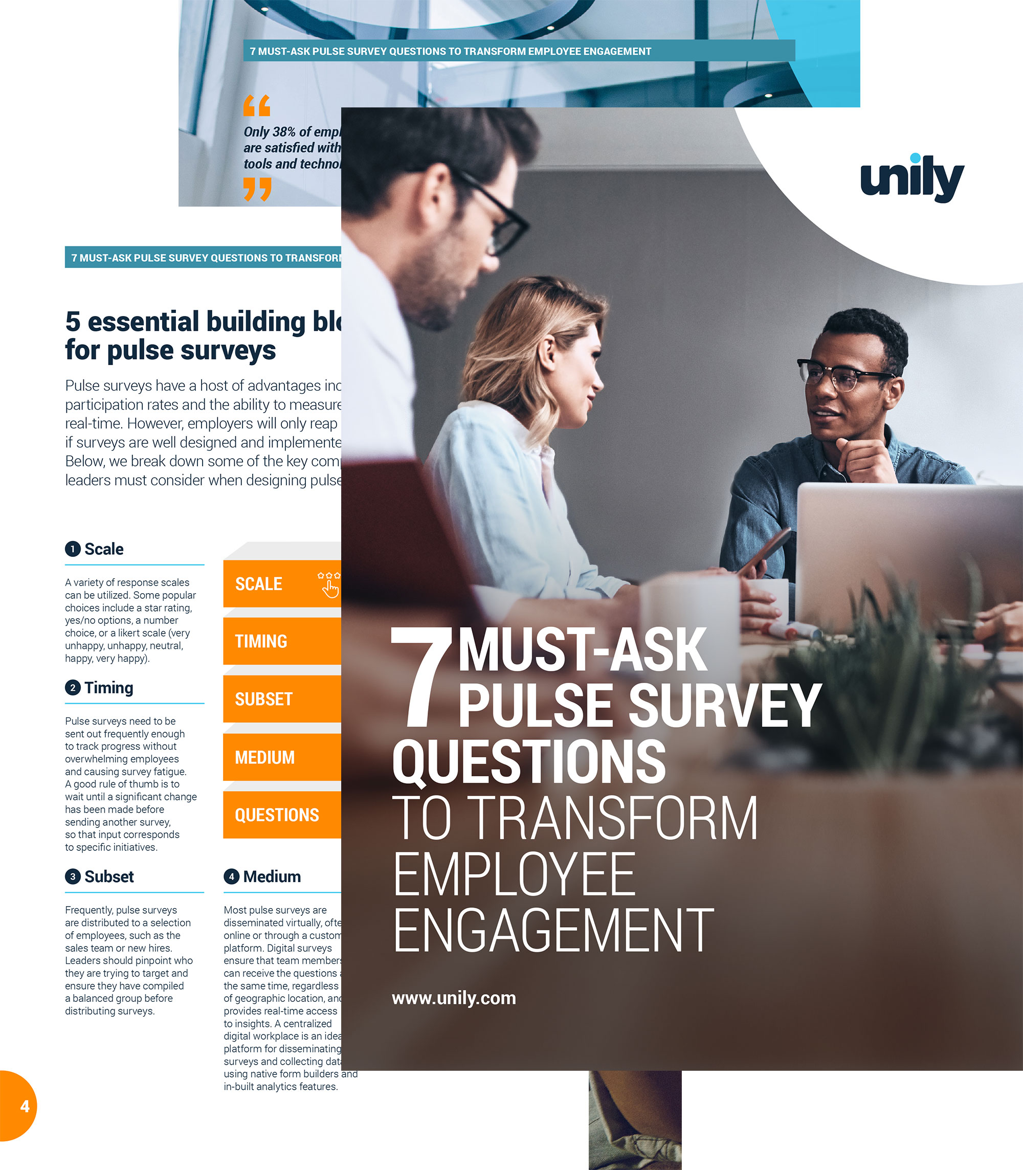 pulse survey guide cover
