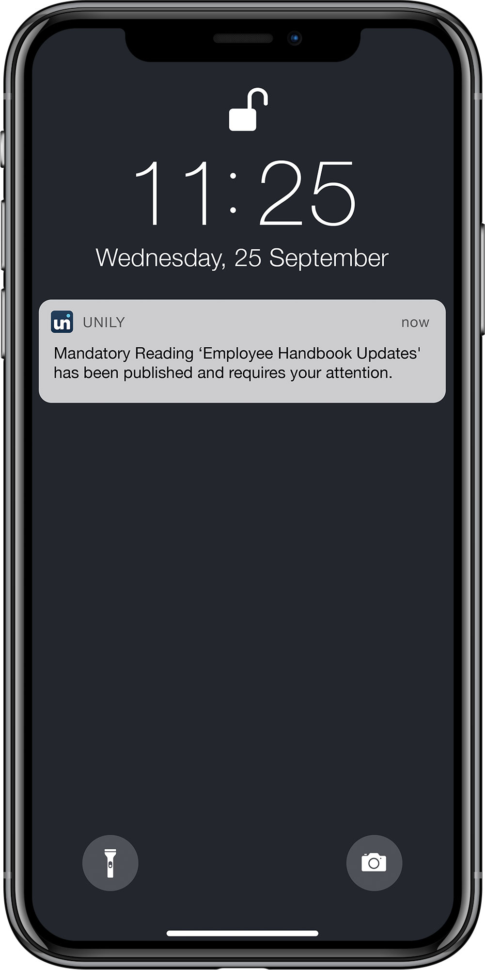 use push notifications to reach frontline employees on the go