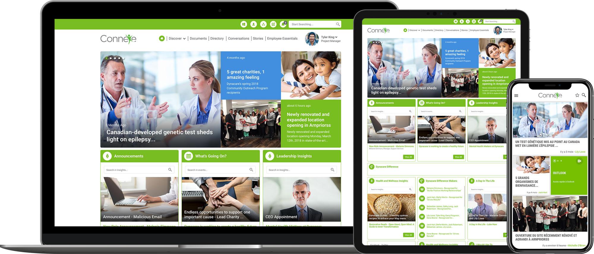 Dynacare's Nielsen Norman Award-winning platform