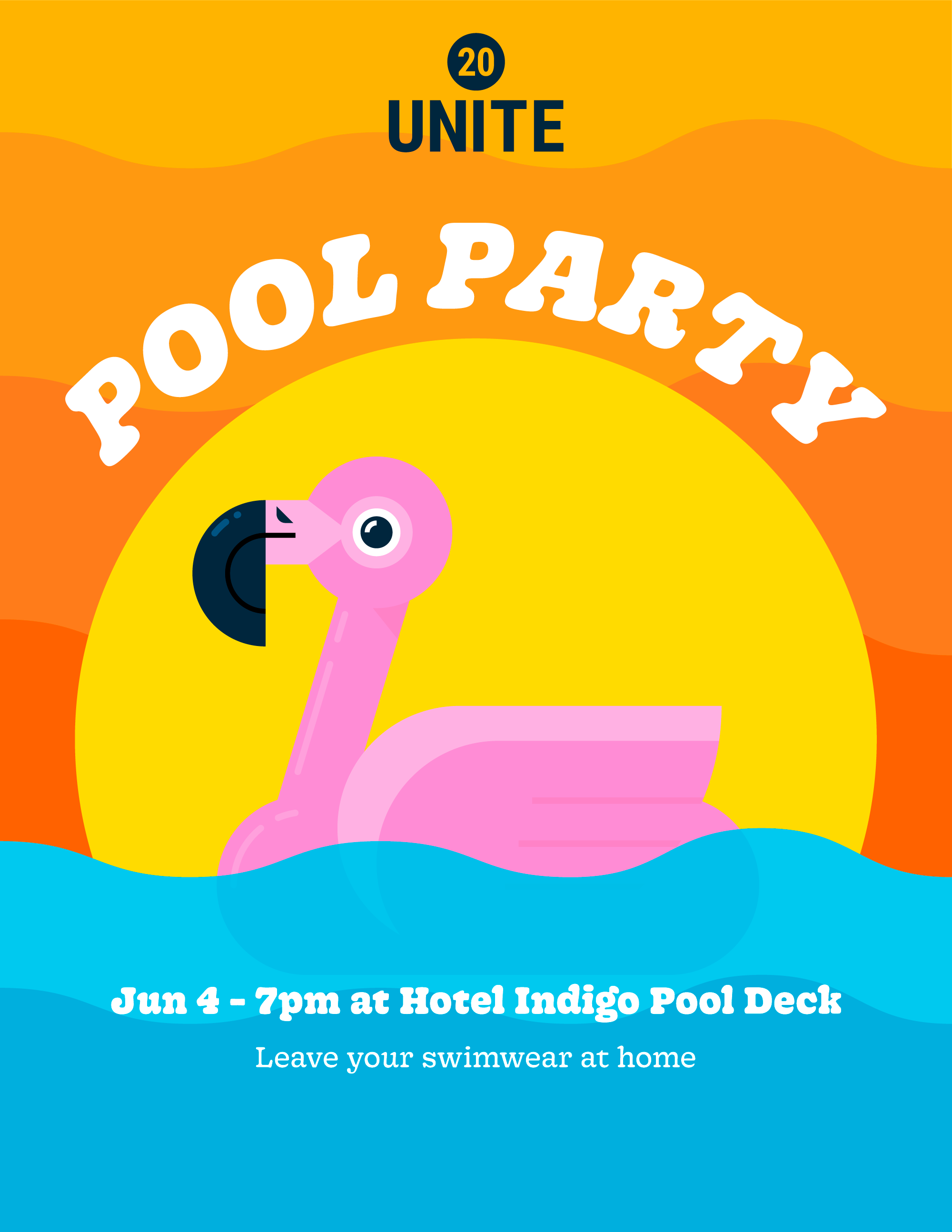 Unite 20 Pool Party