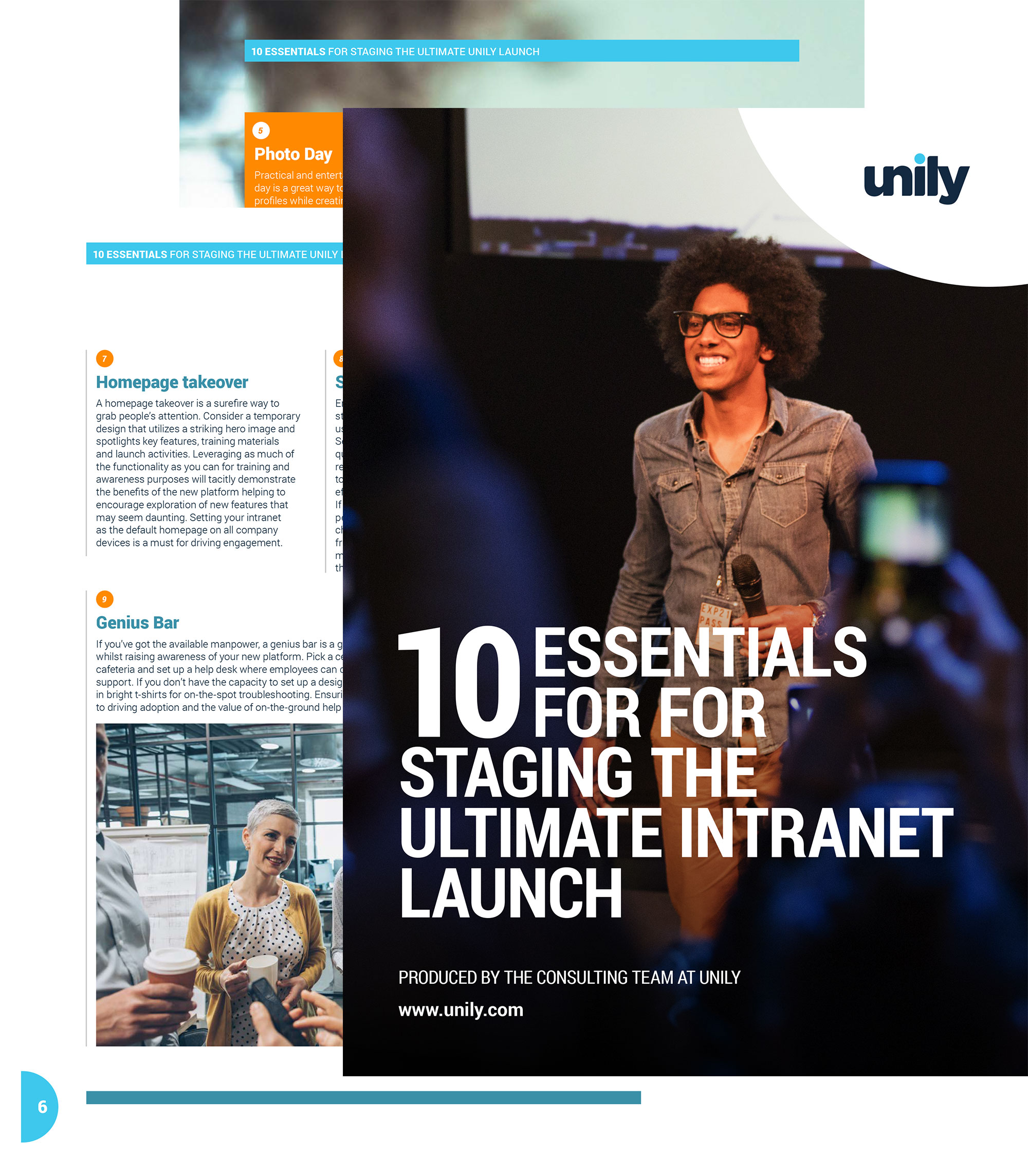 intranet launch guide cover