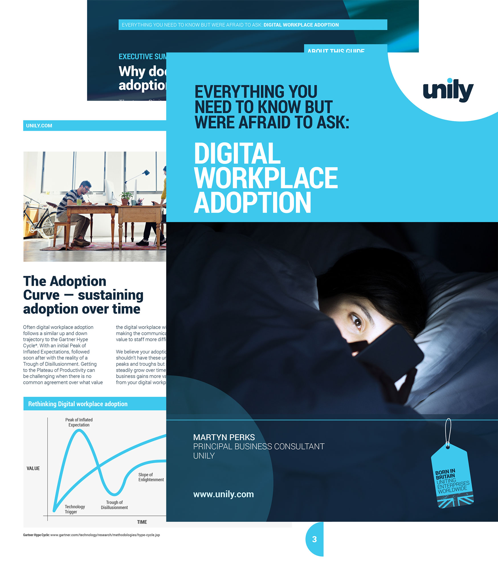 Digital workplace adoption guide cover