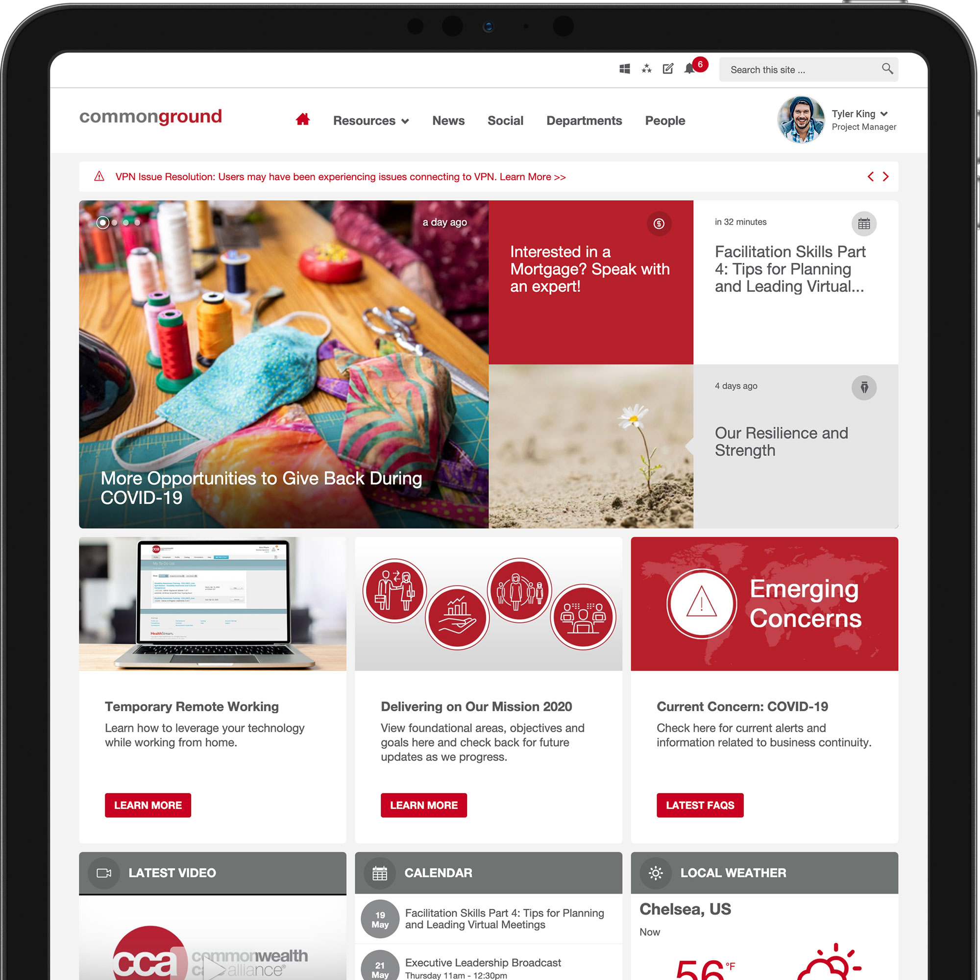 commonwealth care alliance homepage